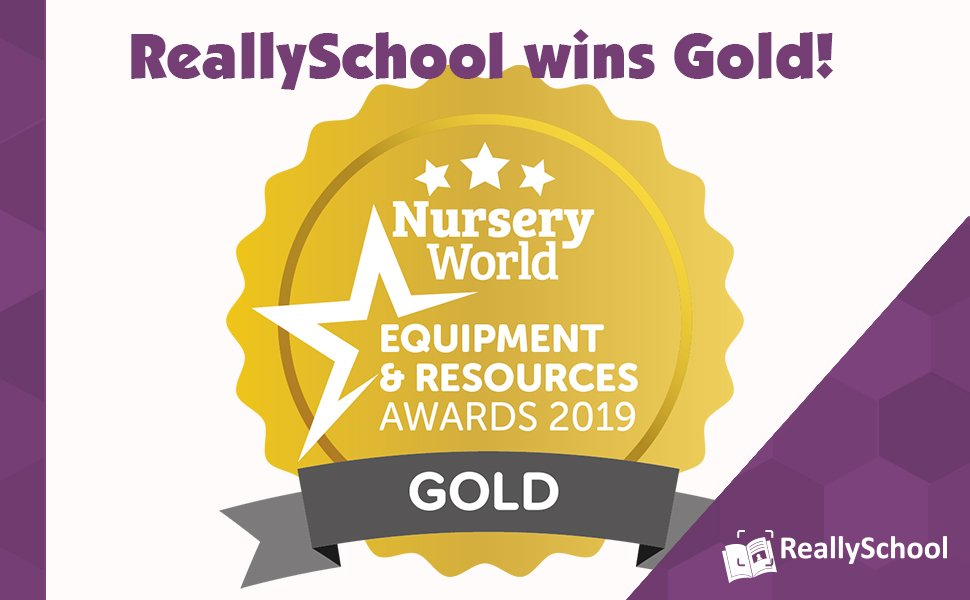 ReallySchool gets a Gold Award!
