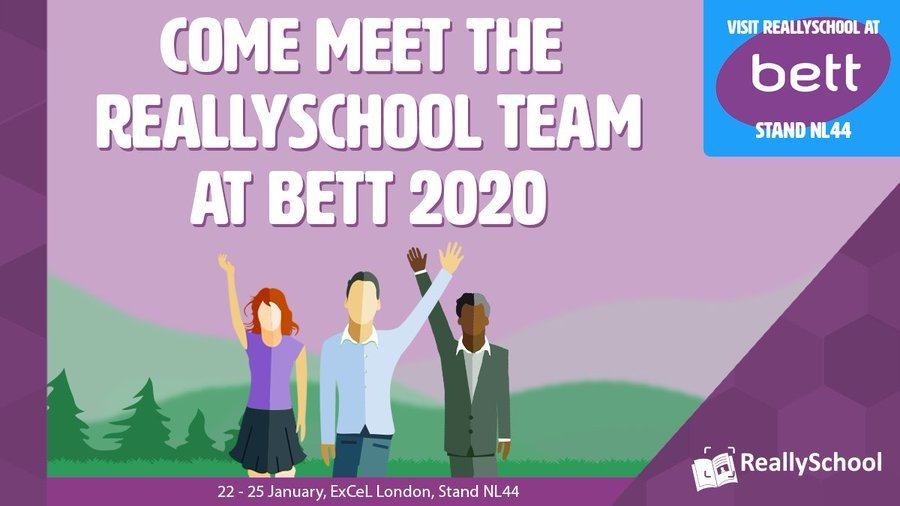 ReallySchool at Bett 2020