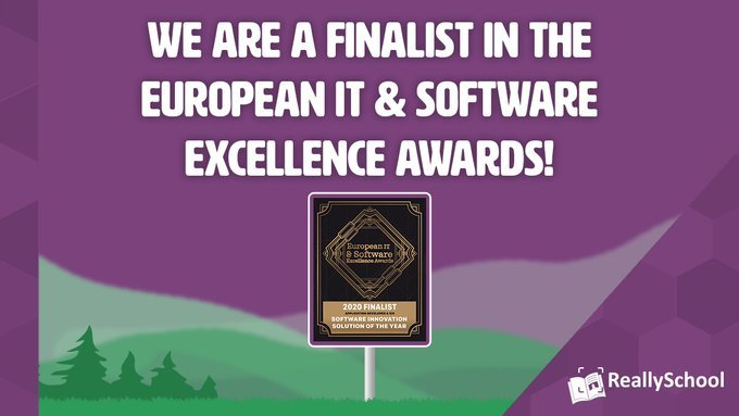 ReallySchool is a finalist in the IT Europa Awards!