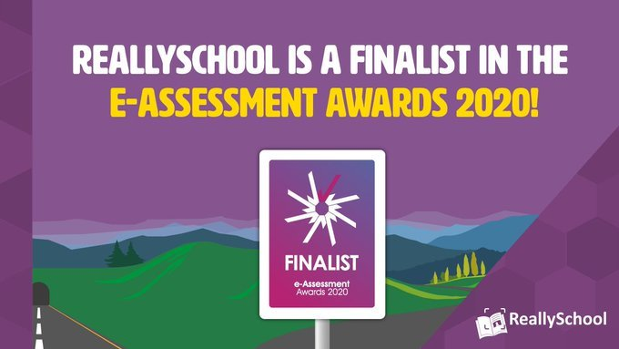 ReallySchool is a finalist in the e-Assessment Awards!