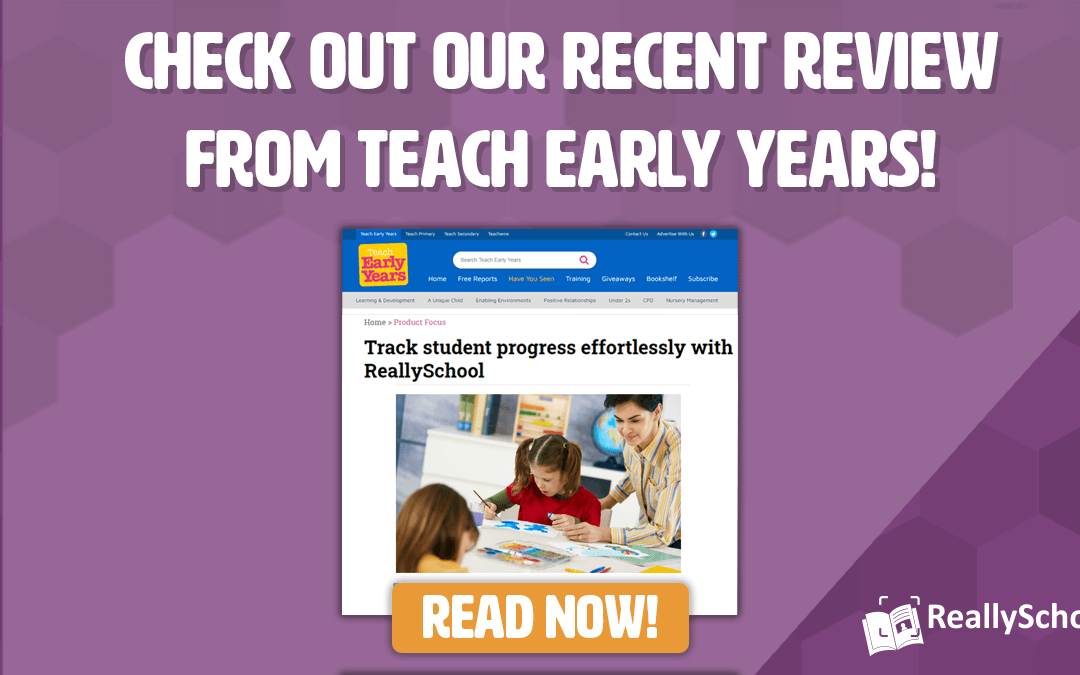 Teach Early Years magazine reviews ReallySchool