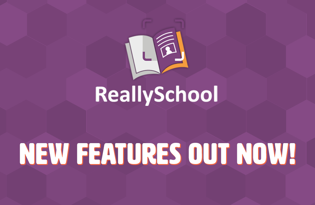 New ReallySchool update!