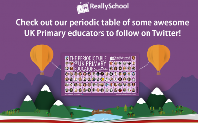Periodic Table of UK Primary educators to follow today!