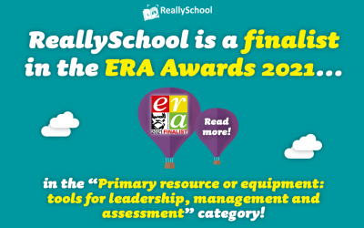 ReallySchool is an award finalist!