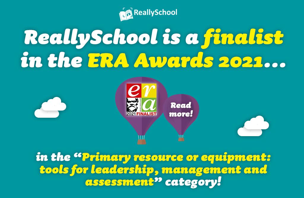 ReallySchool is an award finalist!