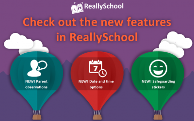New features added to ReallySchool!