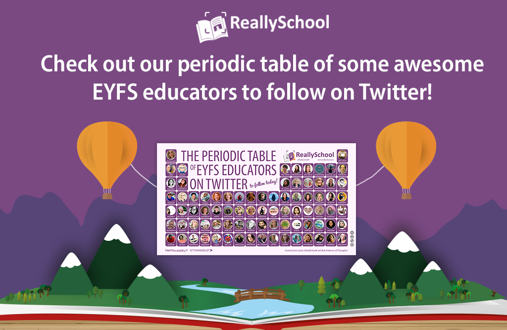 Periodic table of EYFS educators to follow today!