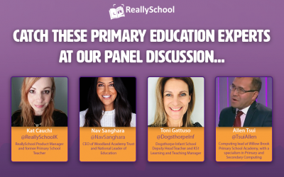 Watch these primary education experts at our panel discussion…