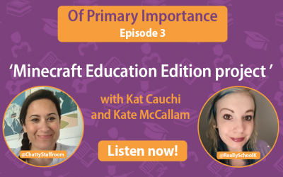 Watch our latest episode of 'Of Primary Importance' now!